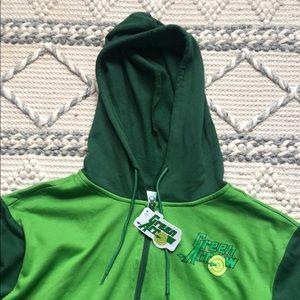 DC Green Arrow Zip Hoodie XL